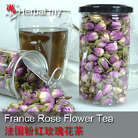 France Rose Flower Tea - 法国粉红玫瑰花茶 500g